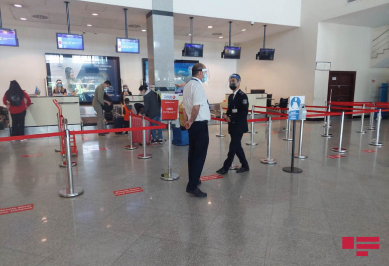 Ganja Airport resumes flights