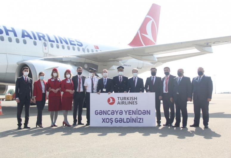 Turkish Airlines resumes flights to Azerbaijan's Ganja