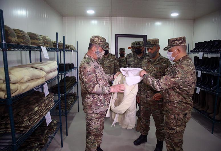 Министр обороны принял участие в открытии новых воинских частей, дислоцированных на освобожденных территориях -<span class=