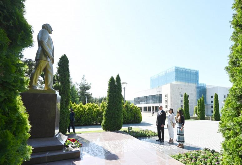 President Ilham Aliyev visits Gabala district