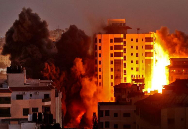 İsrail-Fələstin toqquşması nəticəsində ölənlərin sayı 140-ı keçib