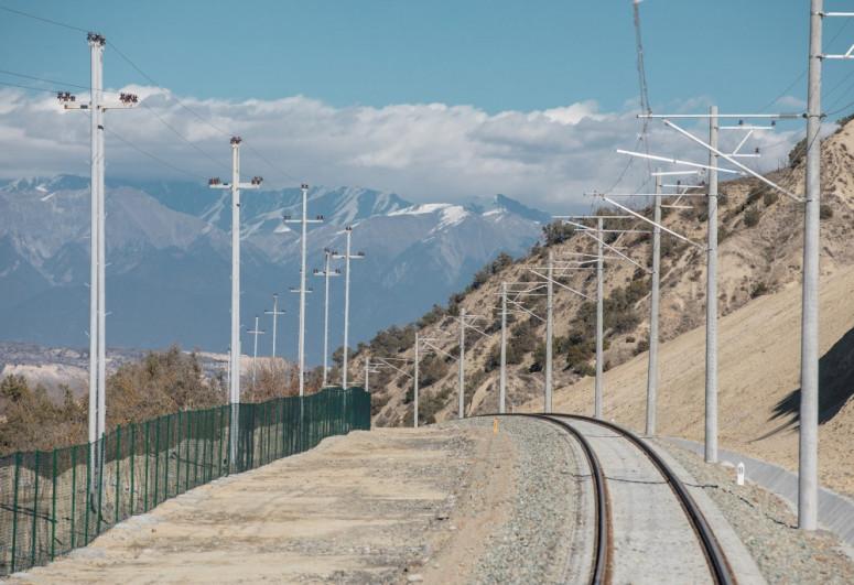 Состоялось открытие Габалинского железнодорожного вокзала и однолинейной железной дороги станция Ляки-Габала-<span class=