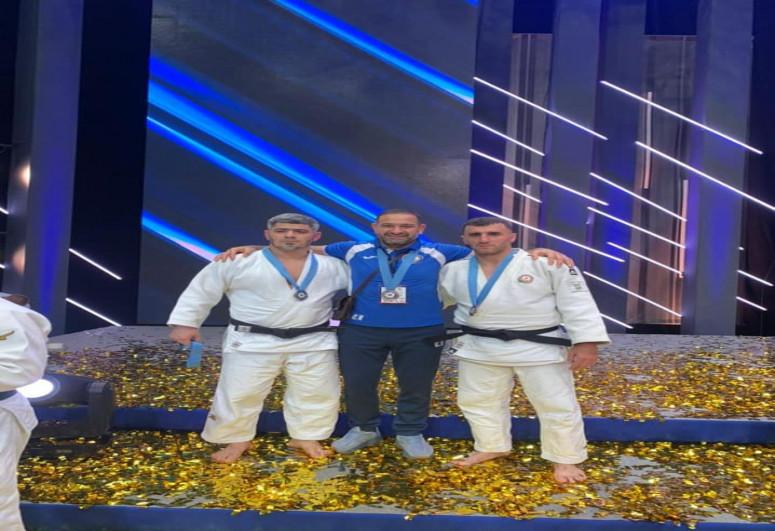 Азербайджанские дзюдоисты одержали победу над Арменией и заняли 2-е место на международном турнире