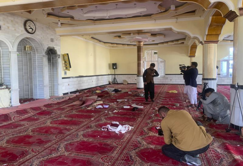 Islamic State claims responsibility for Kabul mosque attack