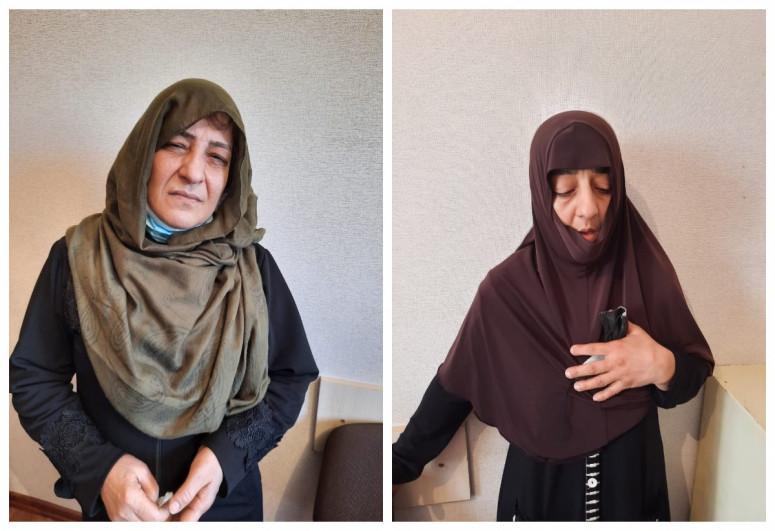 """В Баку задержаны сестры, занимавшиеся кражами в общественном транспорте-<span class=""""red_color"""">ФОТО</span>"""