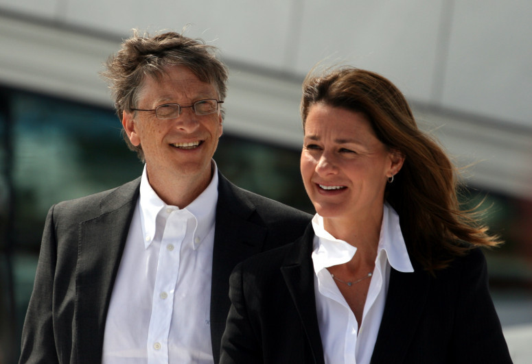 Bill Gates' wife received billions of dollars in shares after divorce