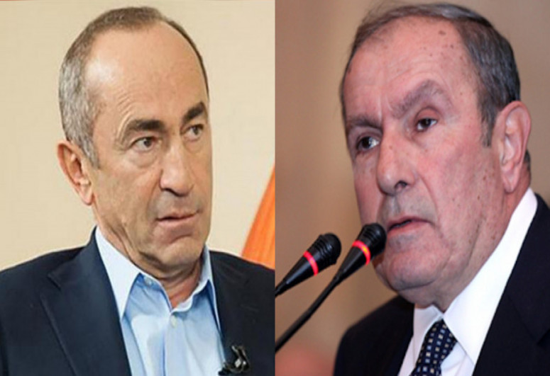 """Ter-Petrosyan: """"Robert Kocharyan is not interested in state, only wants to take revenge from acting Prime Minister Nikol Pashinyan"""""""