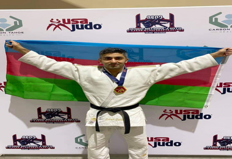 Azerbaijani judoka became US champion