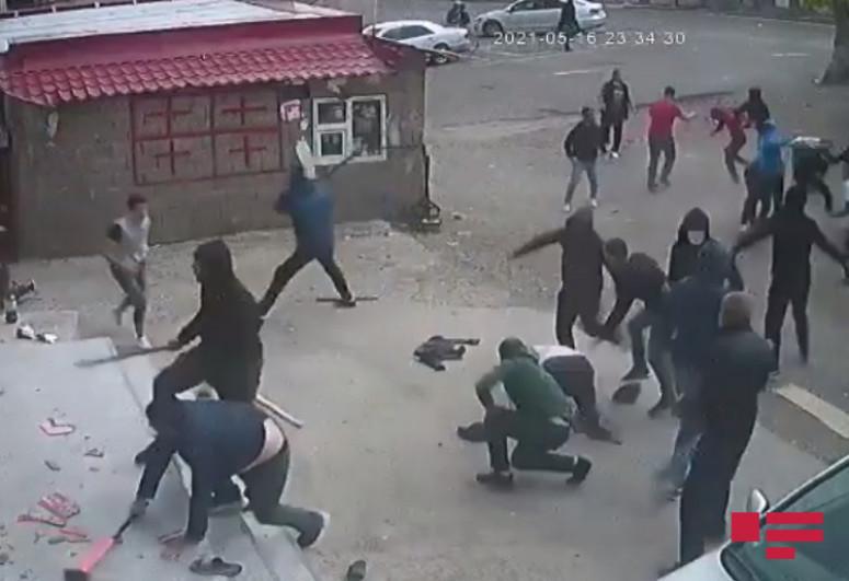 """Mass brawl erupts in Georgia, some injured-<span class=""""red_color"""">PHOTO</span>-<span class=""""red_color"""">VIDEO</span>"""