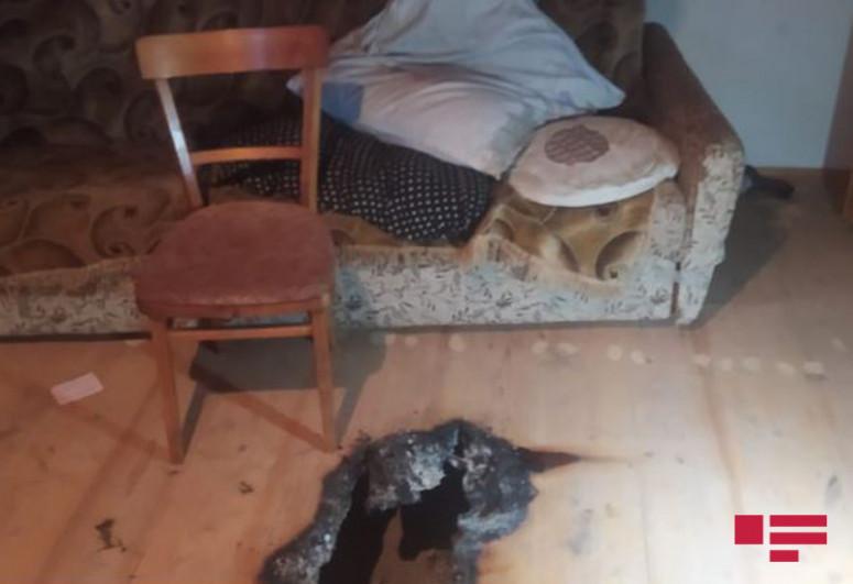 В Агстафе в доме обнаружен труп убитой женщины-<span class=