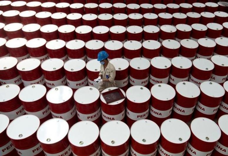 Price of Brent crude oil slightly decreases