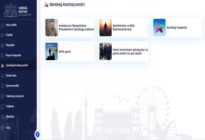 Электронный портал «E-Sabail» запустил новый раздел«Карабах - это Азербайджан!»