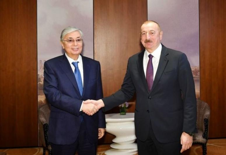 Состоялся телефонный разговор между президентами Азербайджана и Казахстана