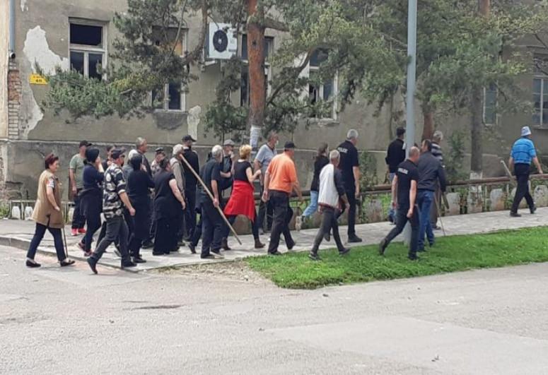 МВД Грузии обратилось с призывом в связи с массовой дракой в Дманиси
