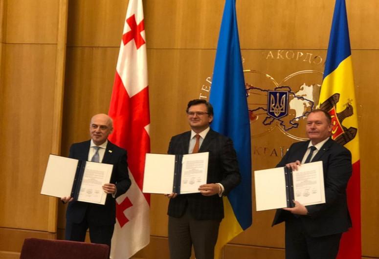 Украина, Грузия и Молдова основали новый формат с целью получения членства в ЕС