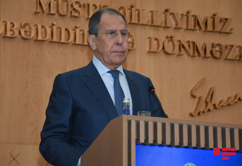 """Lavrov: """"Moscow is ready to assist Yerevan and Baku in demarcation of borders"""""""