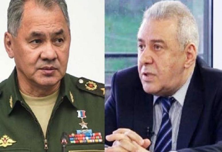Состоялся телефонный разговор министров обороны России и Армении