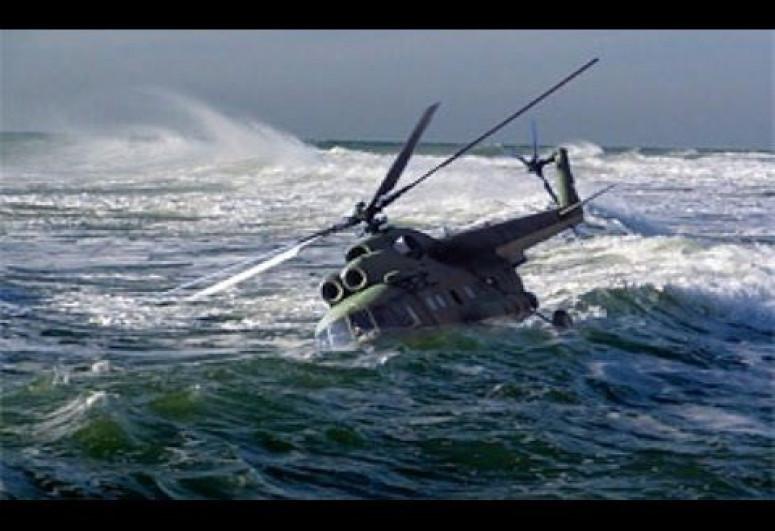 Rusiyada qəzaya uğrayan helikopter Ağ dənizə düşüb