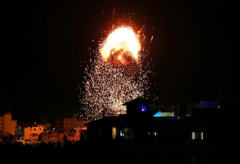 Israel shells Lebanon after failed launches toward Israeli territory -Israeli military