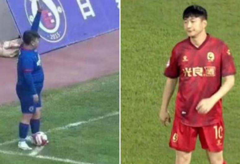Çinli iş adamı klub alıb, 126 kq-lıq oğlunu hücumçu edib