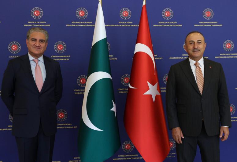 Turkish and Pakistani FMs met