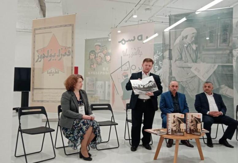 Казанским библиотекам переданы экземпляры книги «Азербайджан в годы Великой Отечественной войны»
