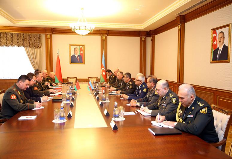 """Обсуждены перспективы развития военно-технического сотрудничества между Азербайджаном и Беларусью-<span class=""""red_color"""">ВИДЕО</span>"""