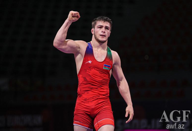 Azərbaycan güləşçiləri Avropa çempionatında 1 qızıl, 1 gümüş və 2 bürünc medal qazanıb