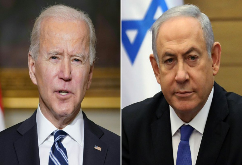 Bayden və Netanyahu Qəzzadakı vəziyyəti müzakirə edib