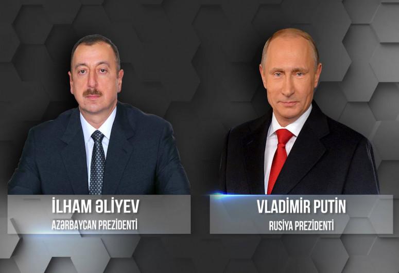 Ilham Aliyev and Vladimir Putin discussed the recent events on the Azerbaijani-Armenian border