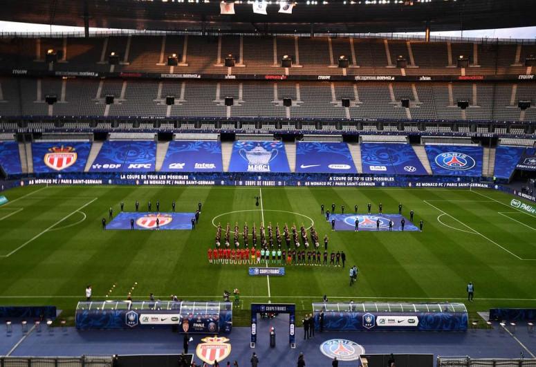 PSJ Fransa kubokunun qalibi olub
