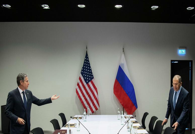 Lavrov və Blinken görüşün nəticələrini qiymətləndirib