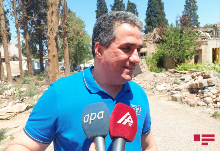 """French journalist: """"I can not find a word for what, committed by Armenians in Ganja"""""""