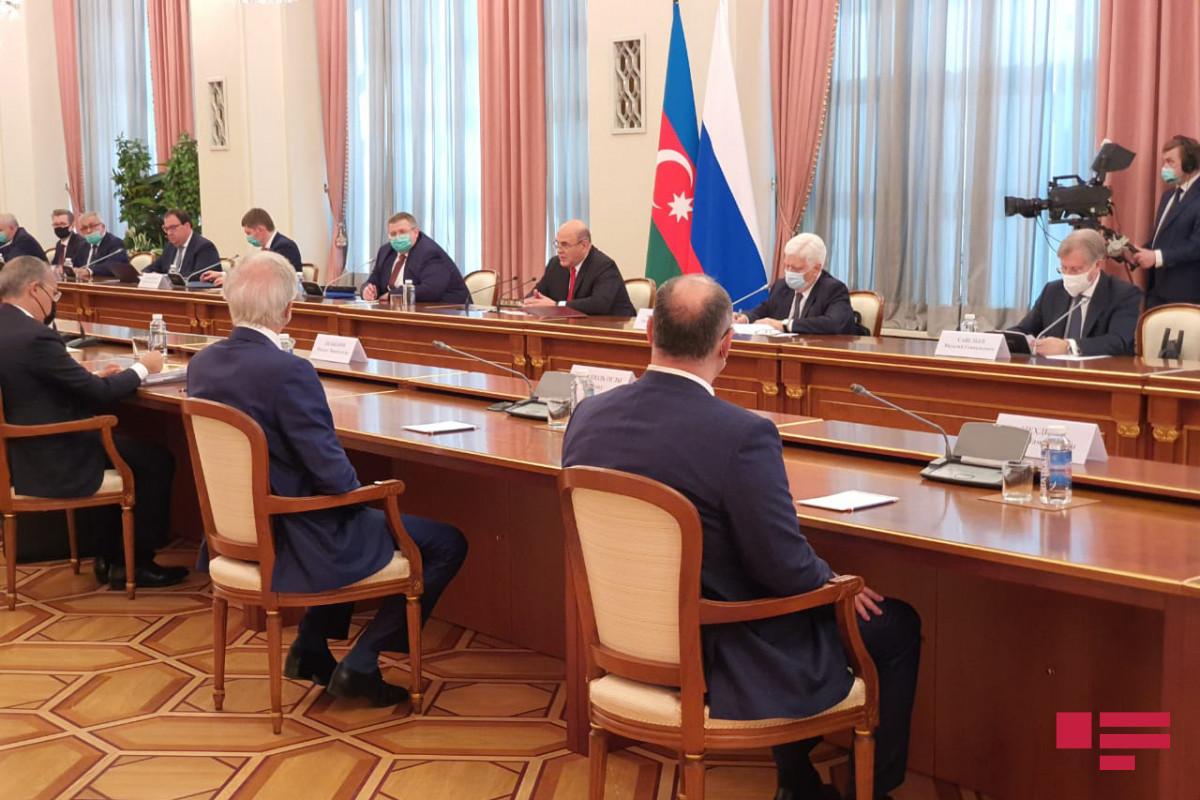 Moskvada Azərbaycan və Rusiya Baş nazirlərinin görüşü keçirilib - <span class=