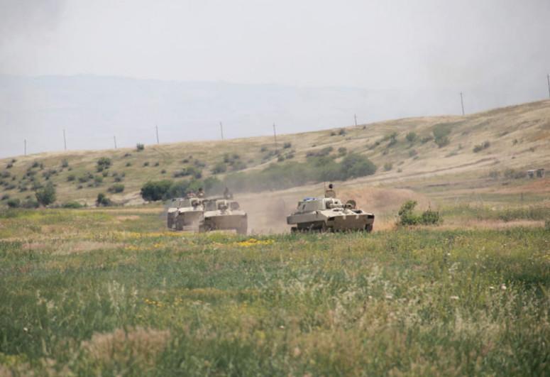 Azərbaycan Ordusunda keçirilən təlimlər başa çatıb