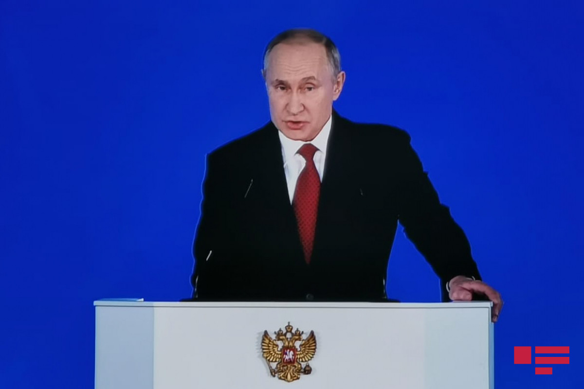 """Putin: """"Rusiya ondan nəsə qoparmaq istəyənlərin """"dişlərini qıracaq"""""""""""