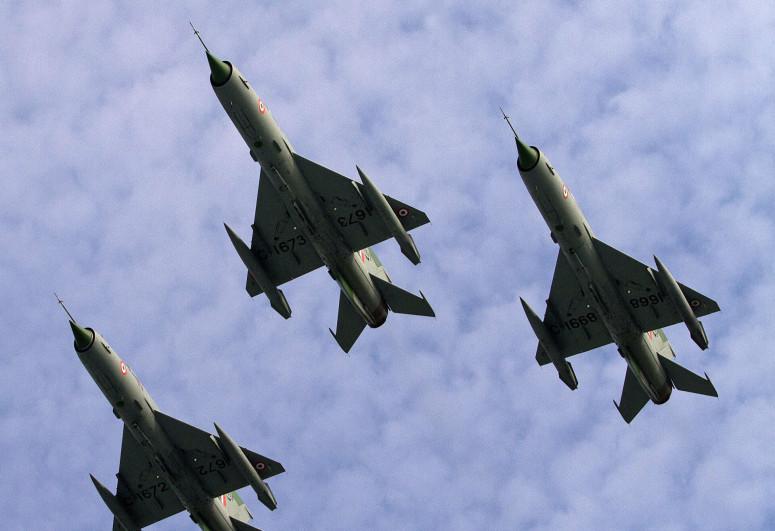В Индии разбился МиГ-21, пилот погиб