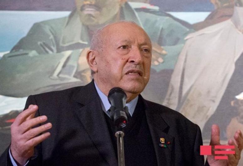 Azerbaijani Ministry of Culture issued an obituary regarding death of Tahir Salahov