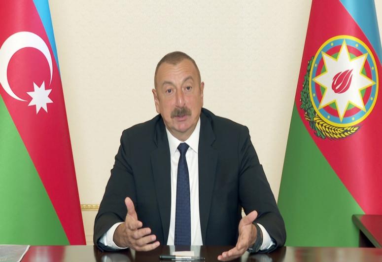"""Prezident: """"Ermənistan tərəfindən siyasi iradə olsa, sülh sazişi mümkündür"""""""