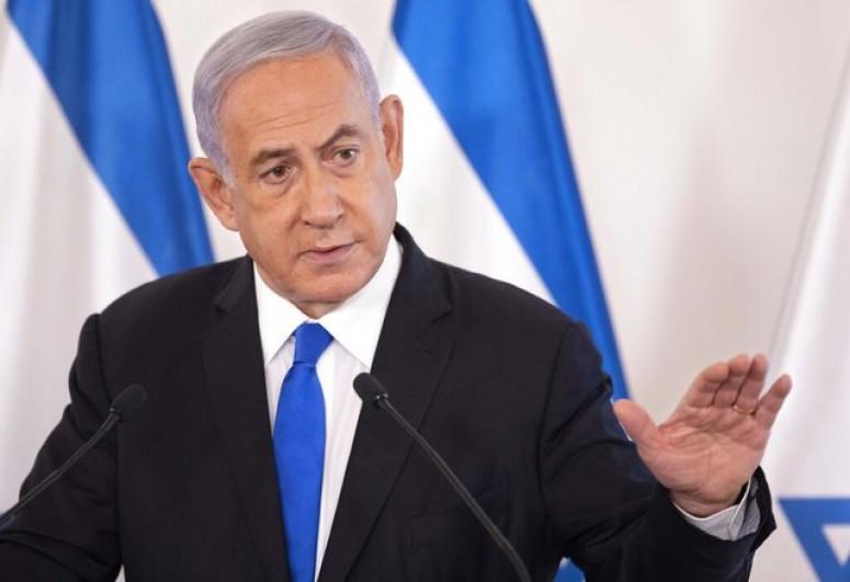 """Netanyahu: """"İsrail HƏMAS-a güclü zərbələr endirdi"""""""