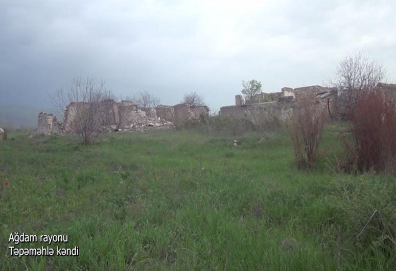 """Село Тепемехля Агдамского района-<span class=""""red_color"""">ВИДЕО"""