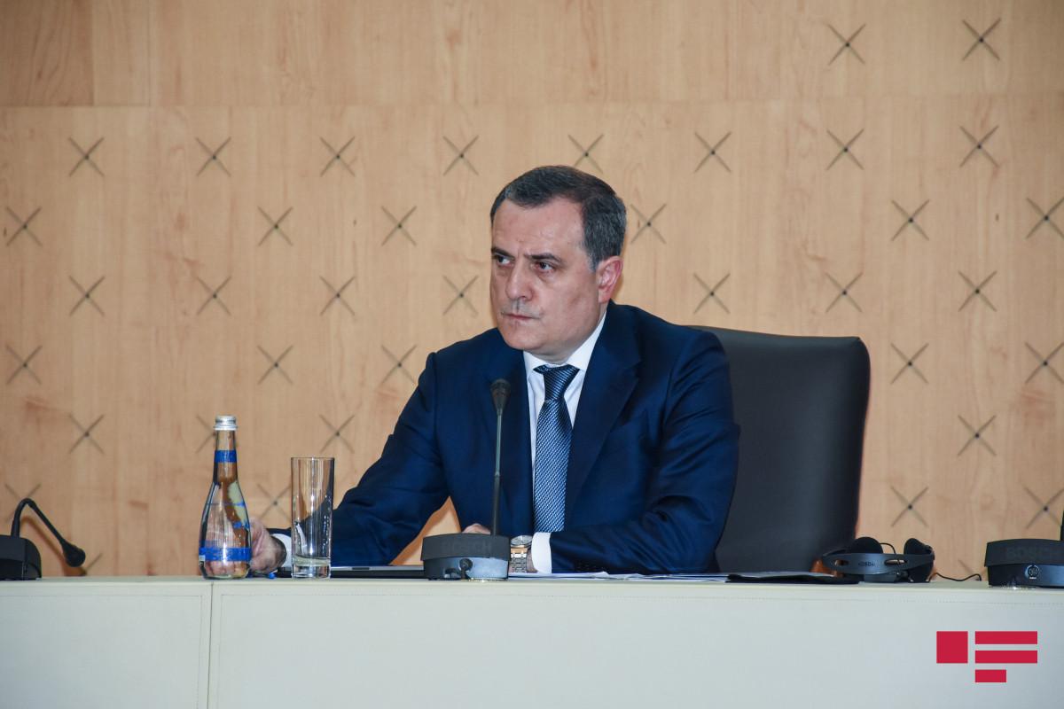 Ceyhun BayramovAvropa Şurası Nazirlər Komitəsinin iclasında çıxış edib