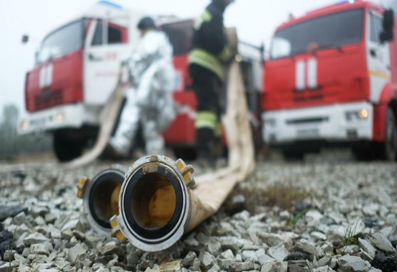 При пожаре в частном доме в России погибли шесть человек