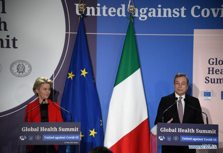 Global Health Summit kicks off in Rome with focus on ensuring COVID-19 vaccines for all