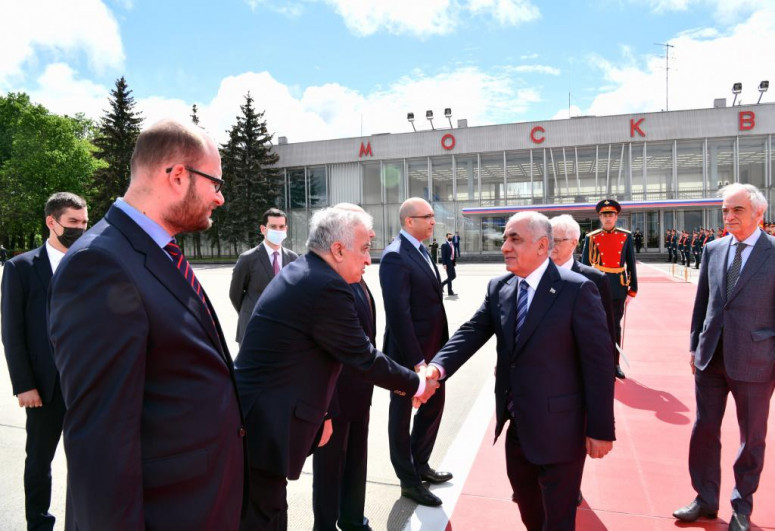 Azerbaijani PM's visit to Russia completed