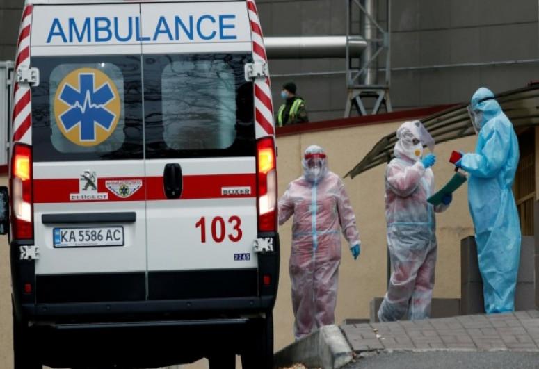 Ukraine reports 4,606 new coronavirus cases