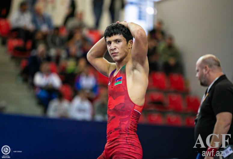 Azerbaijani wrestler won the title of European champion
