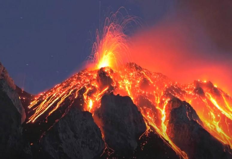 В Конго началось извержение вулкана