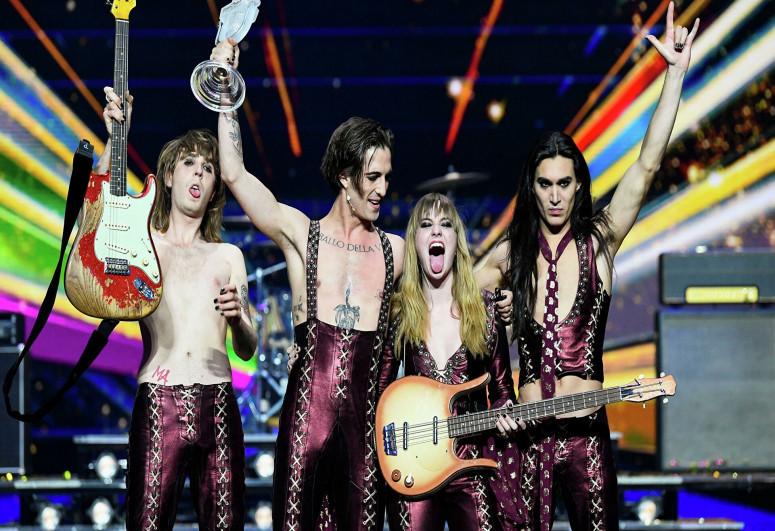 Eurovision winner denies taking drugs during event