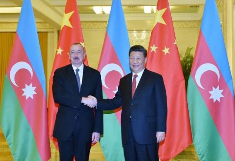 Chinese leader sends congratulatory letter to Azerbaijani President